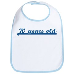 70 years old (sport-blue) Bib