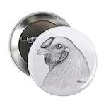 Chantecler Rooster Head Button