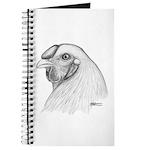 Chantecler Rooster Head Journal