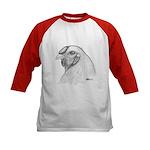 Chantecler Rooster Head Kids Baseball Jersey