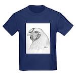 Chantecler Rooster Head Kids Dark T-Shirt