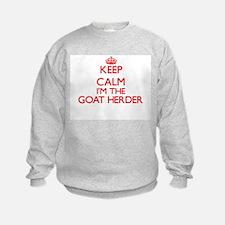 Keep calm I'm the Goat Herder Sweatshirt