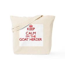 Keep calm I'm the Goat Herder Tote Bag