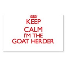 Keep calm I'm the Goat Herder Decal