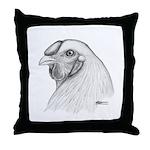 Chantecler Rooster Head Throw Pillow