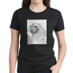 Chantecler Rooster Head Women's Dark T-Shirt