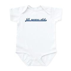 68 years old (sport-blue) Infant Bodysuit
