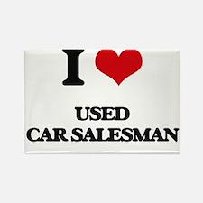 used car salesman Magnets