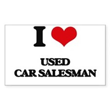 used car salesman Decal