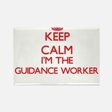 Keep calm I'm the Guidance Worker Magnets