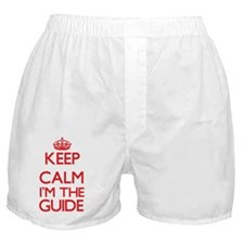 Keep calm I'm the Guide Boxer Shorts