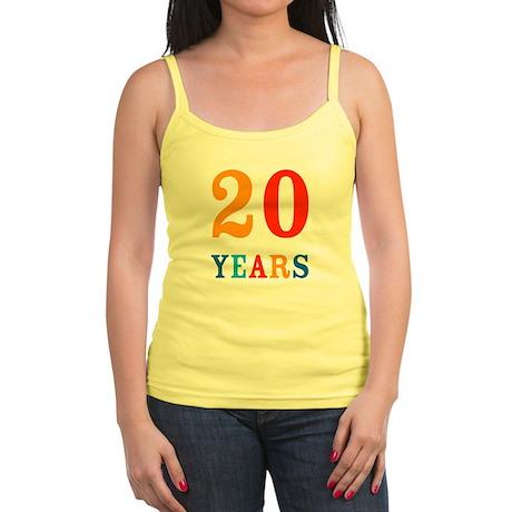 20 Years! Jr. Spaghetti Tank