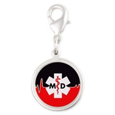MD Red Heartbeat Charms