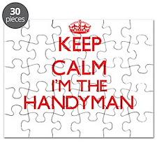 Keep calm I'm the Handyman Puzzle
