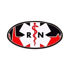RN Red Heartbeat Patches