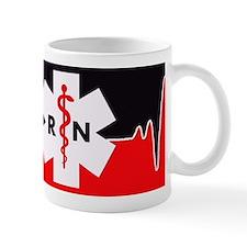 RN Red Heartbeat Mugs