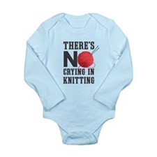 No Crying In Knitting Body Suit