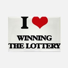 winning the lottery Magnets