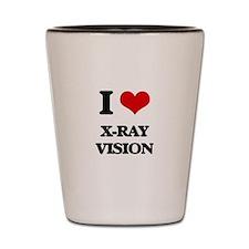 x-ray vision Shot Glass