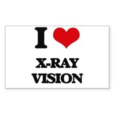 x-ray vision Decal