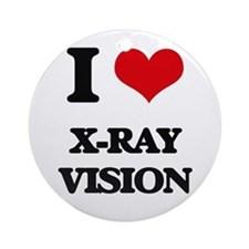 x-ray vision Ornament (Round)