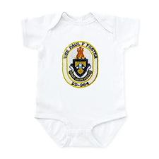 USS PAUL F. FOSTER Infant Bodysuit