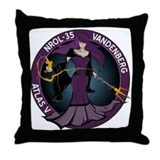 NROL 35 Launch Throw Pillow