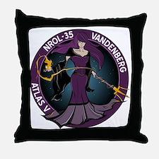 NROL 35 Program Throw Pillow