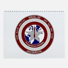 NROL-35 Launch Logo Wall Calendar