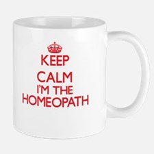 Keep calm I'm the Homeopath Mugs