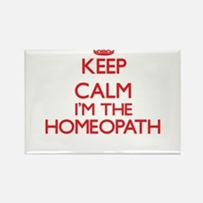 Keep calm I'm the Homeopath Magnets