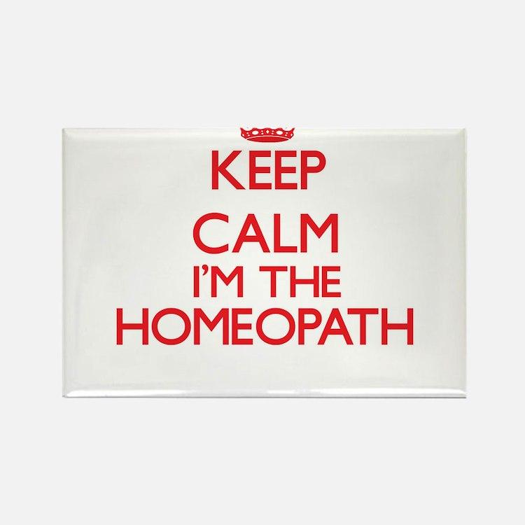 Keep calm I'm the Homeopath Magnets