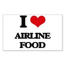 airline food Decal