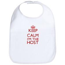 Keep calm I'm the Host Bib