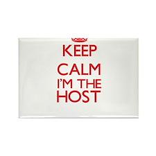Keep calm I'm the Host Magnets