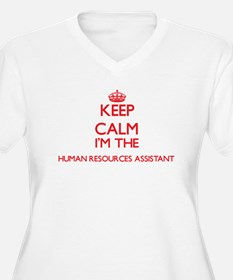 Keep calm I'm the Human Resource Plus Size T-Shirt