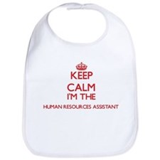 Keep calm I'm the Human Resources Assistant Bib