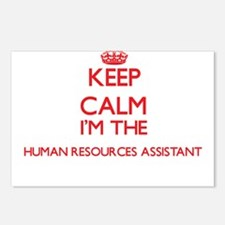 Keep calm I'm the Human R Postcards (Package of 8)