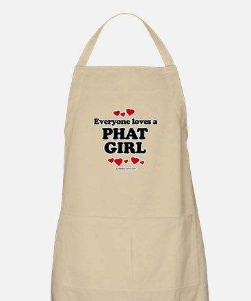 Everyone loves a phat girl BBQ Apron