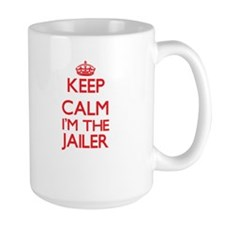 Keep calm I'm the Jailer Mugs