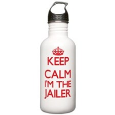 Keep calm I'm the Jail Water Bottle