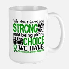 Mitochondrial Disease HowStrongWeAre Large Mug