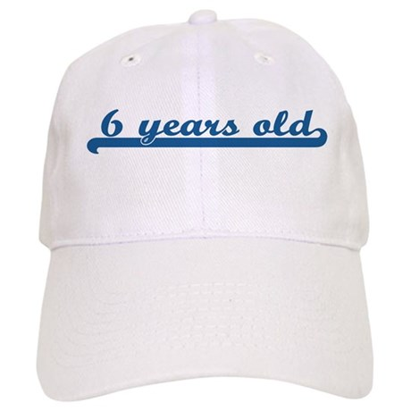 6 years old (sport-blue) Cap