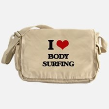 body surfing Messenger Bag
