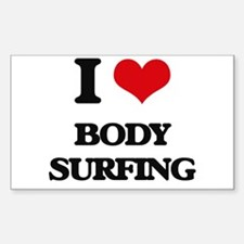 body surfing Decal