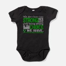 Mental Health HowStrongWeAre Baby Bodysuit