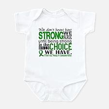 Mental Health HowStrongWeAre Infant Bodysuit