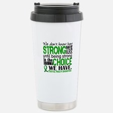 Mental Health HowStrong Stainless Steel Travel Mug