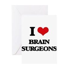 brain surgeons Greeting Cards