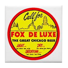 Fox Deluxe-1940 Tile Coaster